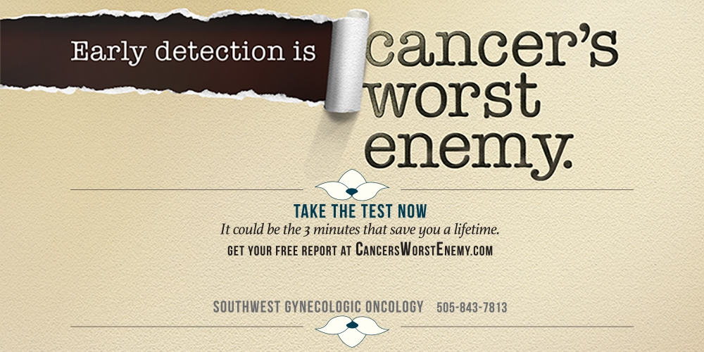 Early detection is cancer's worst enemy take the test